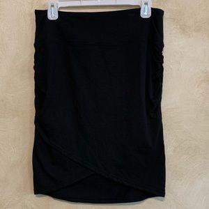 Athleta Twisted Midi Skirt